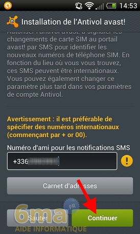 Protéger son mobile Android avec Avast Mobile Security image 19