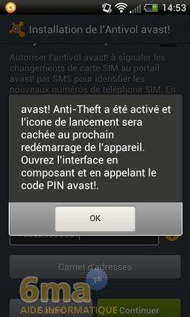 Protéger son mobile Android avec Avast Mobile Security image 20