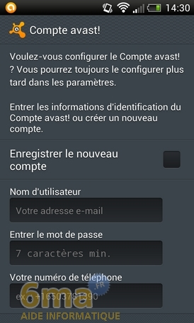 Protéger son mobile Android avec Avast Mobile Security image 22