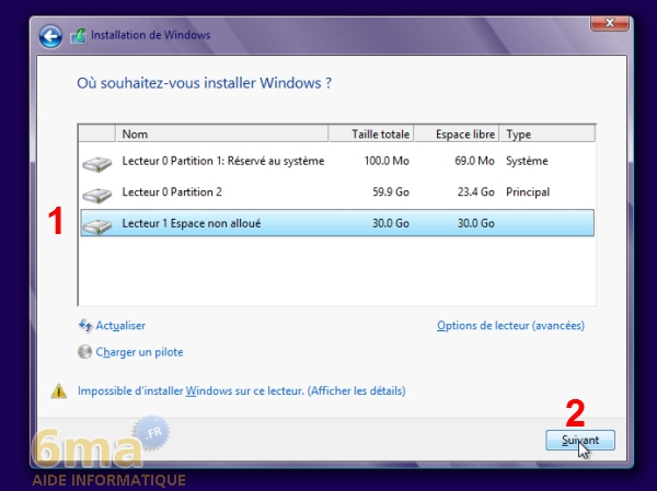 Comment installer Windows 8 sur un VHD en dual boot avec Windows 7 ? image 14