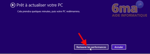Comment actualiser et réinitialiser son PC sous Windows 8 ? image 4