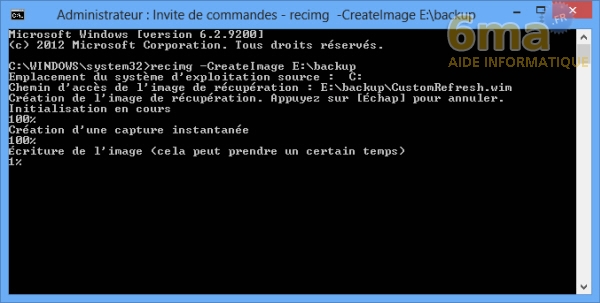 Comment actualiser et réinitialiser son PC sous Windows 8 ? image 10