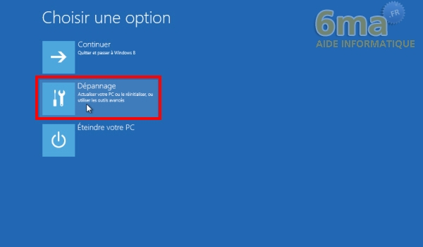 Comment actualiser et réinitialiser son PC sous Windows 8 ? image 21