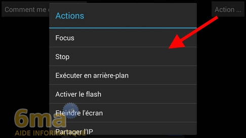 Comment transformer un téléphone Android en Webcam IP ? image 5