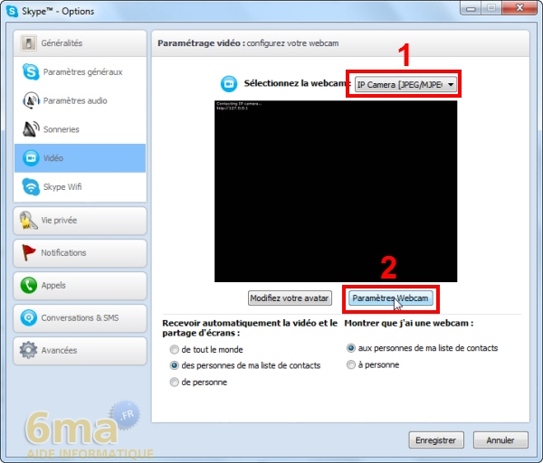 Comment transformer un téléphone Android en Webcam IP ? image 12