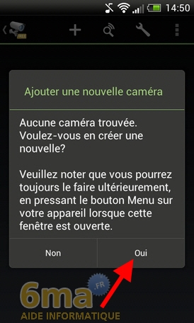 Comment transformer un téléphone Android en Webcam IP ? image 20