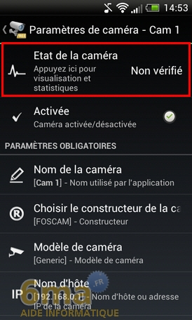 Comment transformer un téléphone Android en Webcam IP ? image 22