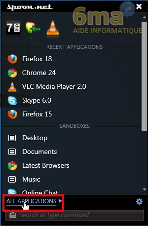 Spoon.net : Lancer des applications sans les installer sur son PC image 5