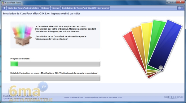 Comment installer facilement un thème Mac OS X Lion sur Windows 7 ? image 10