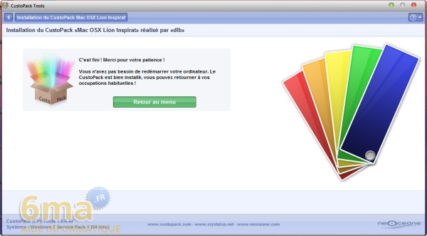 Comment installer facilement un thème Mac OS X Lion sur Windows 7 ? image 13