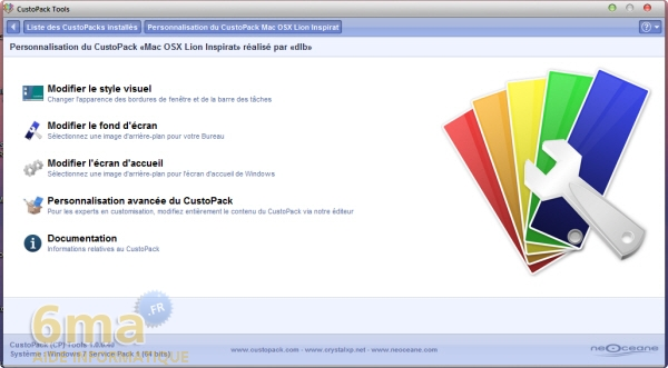 Comment installer facilement un thème Mac OS X Lion sur Windows 7 ? image 18