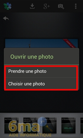 Retoucher facilement vos photos avec Snapseed image 9