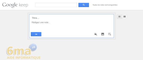 Comment prendre des notes avec Google Keep ? image 0