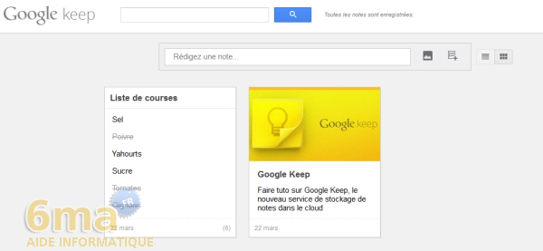 Comment prendre des notes avec Google Keep ? image 12