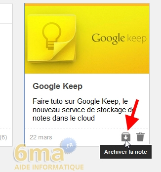 Comment prendre des notes avec Google Keep ? image 13