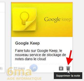 Comment prendre des notes avec Google Keep ? image 15
