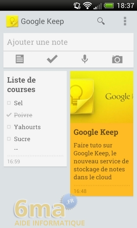 Comment prendre des notes avec Google Keep ? image 18