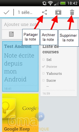 Comment prendre des notes avec Google Keep ? image 23