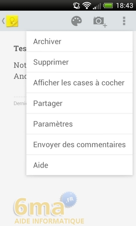 Comment prendre des notes avec Google Keep ? image 24