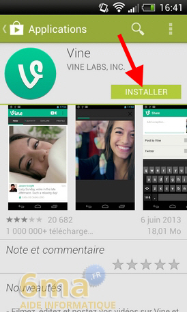 Comment utiliser l'application Vine ? image 0