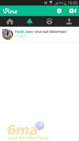 Comment utiliser l'application Vine ? image 12