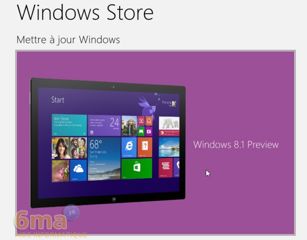 Comment installer Windows 8.1 Preview ? image 5