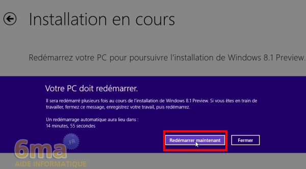 Comment installer Windows 8.1 Preview ? image 8