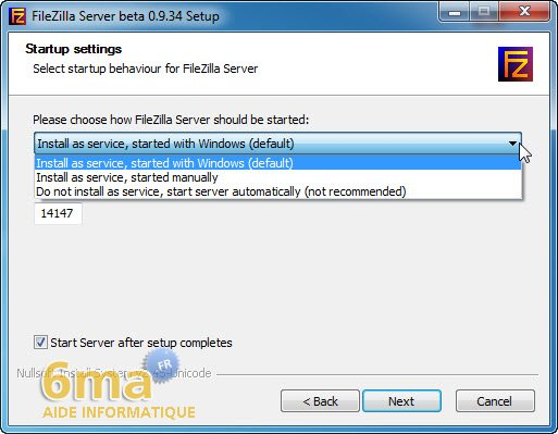 Creer un serveur FTP avec Filezilla Server image 1
