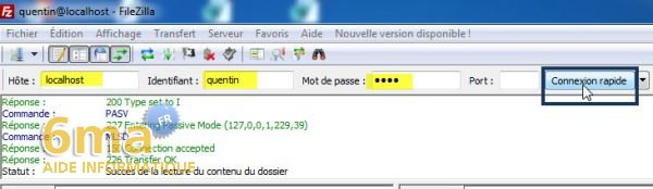 Creer un serveur FTP avec Filezilla Server image 13