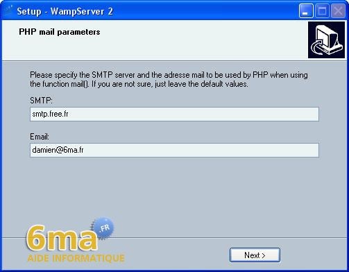 tutoriel WAMP server image