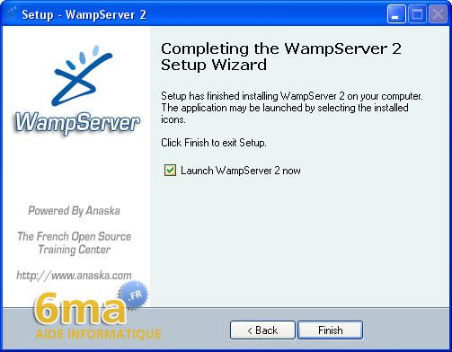 tutoriel WAMP server image 11