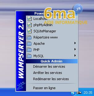 tutoriel WAMP server image 14