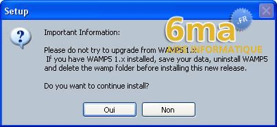 tutoriel WAMP server image 2
