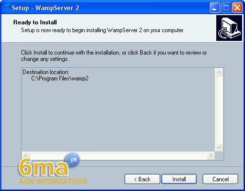 tutoriel WAMP server image 7