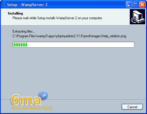 tutoriel WAMP server image 8