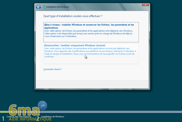 Comment installer Windows 8 Release Preview (beta) ? image 7