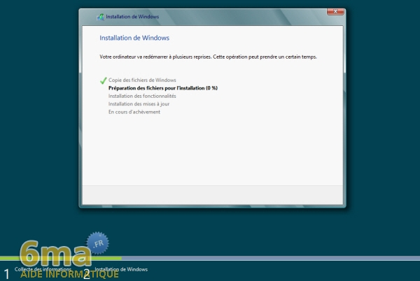 Comment installer Windows 8 Release Preview (beta) ? image 9