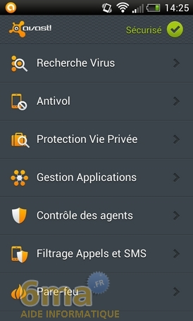 Protéger son mobile Android avec Avast Mobile Security image 1