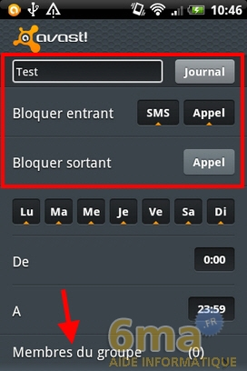 Protéger son mobile Android avec Avast Mobile Security image 11