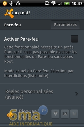 Protéger son mobile Android avec Avast Mobile Security image 14