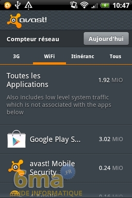 Protéger son mobile Android avec Avast Mobile Security image 15