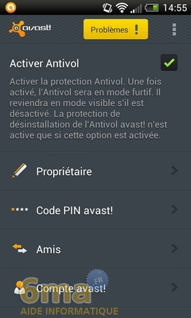 Protéger son mobile Android avec Avast Mobile Security image 23