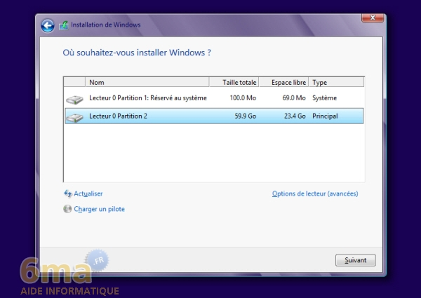Comment installer Windows 8 sur un VHD en dual boot avec Windows 7 ? image 8