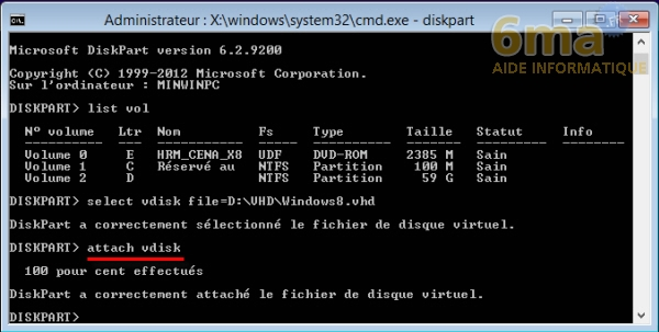 Comment installer Windows 8 sur un VHD en dual boot avec Windows 7 ? image 12