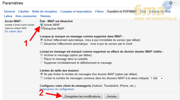 Sauvegarder automatiquement ses SMS d'Android vers Gmail avec SMS Backup + image 0