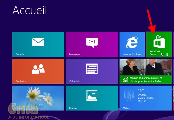 Comment installer une application sous Windows 8 ? image 0