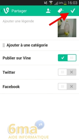 Comment utiliser l'application Vine ? image 8