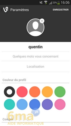 Comment utiliser l'application Vine ? image 15
