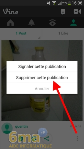 Comment utiliser l'application Vine ? image 16